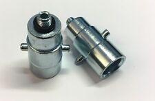 LPG Bajonett Autogas Tankadapter Adapter M10 aus Stahl insgesamt 65mm lang