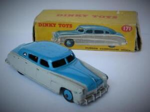 DINKY-TOYS-MECCANO-BOXED-DIECAST-HUDSON-COMMODORE-SEDAN-HIGHLINE-No-171-1954-56