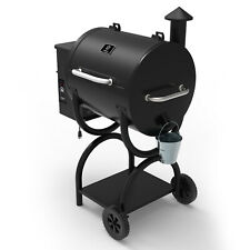 Z GRILLS Wood Pellet Grill BBQ Smoker with Digital Control 590sq.in. ZPG-550A.