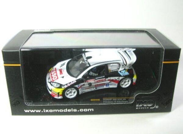 PEUGEOT 206 WRC WRC WRC no. 9 Ypres Rally 2000 733071