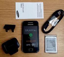 Samsung Galaxy Ace GT-S5830i teléfono inteligente Android Negro Desbloqueado Sin SIM