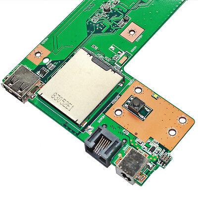 NEW ASUS K52JB K52JC K52JK K52JR K52JT DC Power Jack USB RJ45 Port Charger Board