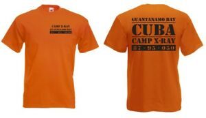 Guantanamo-Bay-Camp-X-Ray-Cuba-Us-Army-T-Shirt-GR-S-XXL-Droits-de-L-039-Homme