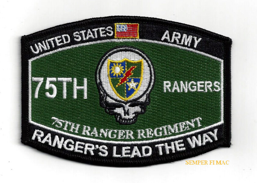 75th Ranger Regiment Patch Us Army Rangers Fort Benning Special Op