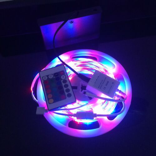 5M Battery Powered Christmas Party Led Lights RGB3528 with 24 Key Remote colour