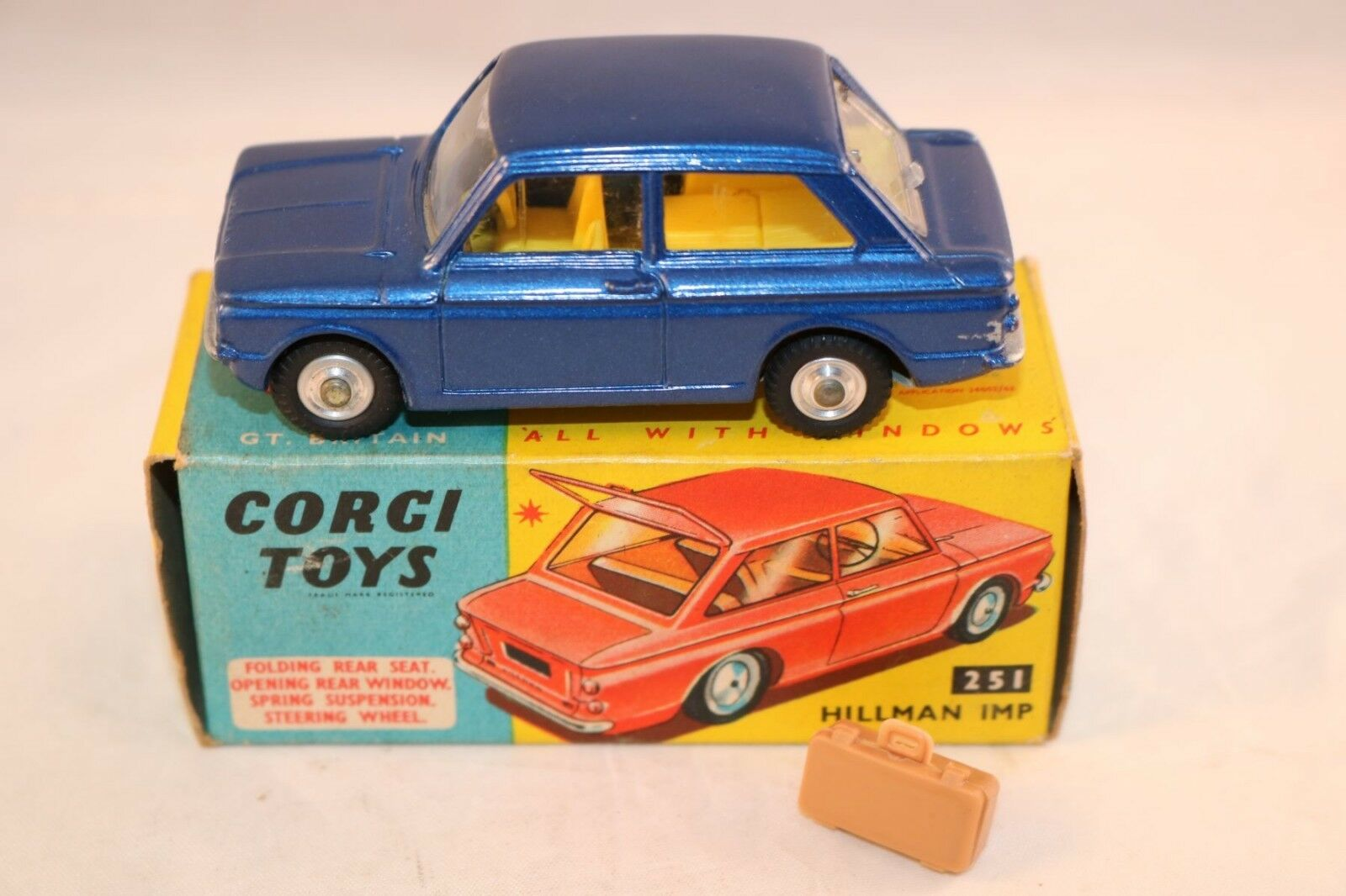 Corgi Toys 251 Hillman IMP perfect mint in box all original condition