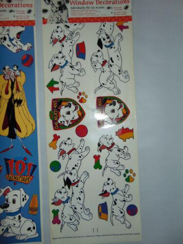 WALT Disney 101 Dalmations LARGE Window CLING Decorations CRUELLA DE VIL NEW 38