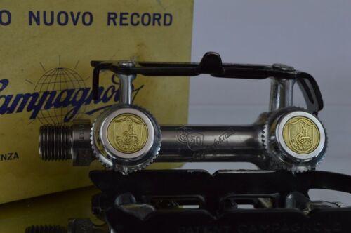 Staubkappen Dust caps for campagnolo 50th anniversary pedals pedalen record Neu
