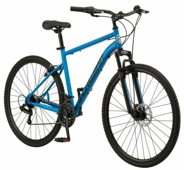 Schwinn 700c Copeland Men's Hybrid Bike- Periwinkle Blue