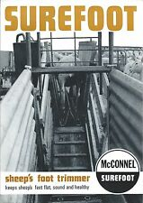 Farm Equipment Brochure - McConnel - Surefoot - Sheep Foot Trimmer c73  (F4644)
