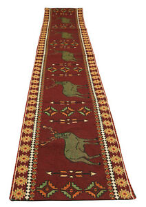 Stag-Jacquard-Southwestern-Design-Table-Runner-13x72-inches