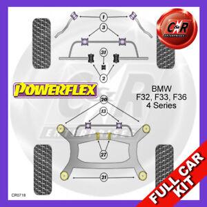 BMW-F32-F33-F36-F82-F83-4-Serie-13-Fr-Camber-amp-Avance-Adj-Powerflex-Entera-Kit