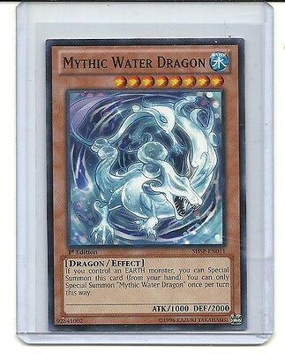 Mythic Water Dragon SHSP-EN011 Common Yu-Gi-Oh Card 1st Edition New