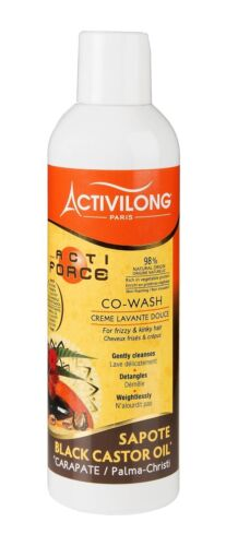 Activilong Actiforce Co Wash Black Castor Oil Mamey Sapote 240 ml
