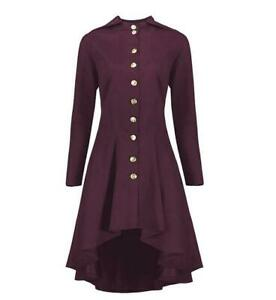 Fashion-Spring-Ladies-Coats-Single-breasted-Long-Sleeve-Cotton-Blend-Bowknot