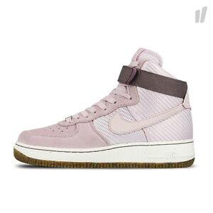 f36819edaeeb Details about 2016 WMNS Nike Air Force 1 Hi Premium QS SZ 8 Bleached Lilac  White 654440-500