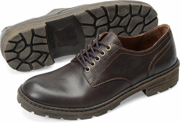 Men's Born Lace Up Casual Walking shoes Marlon Barrel Brown H22923