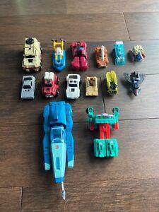 Vintage RARE Transformers G1 Go Bots lot - Hasbro Takara G1 G2 More