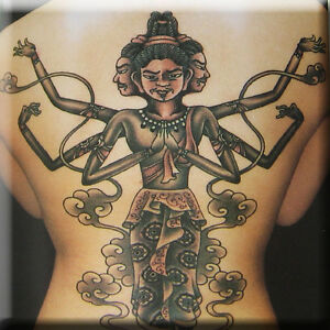 Tattoo-Imagery-Book-Religious-Hindu-Buddhist-Christian-Tiki