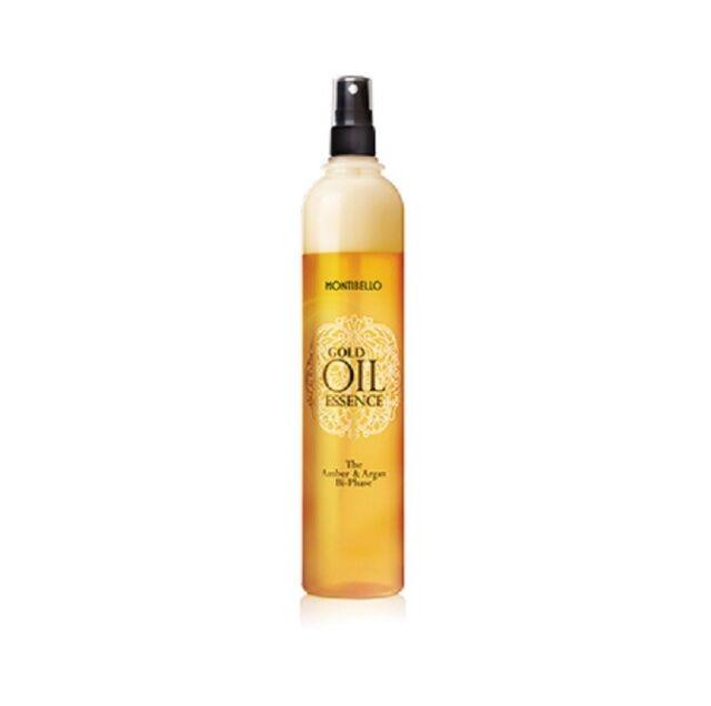 Montibello Gold Öl Essence The Amber und Argan Bi-Phase 400 ML