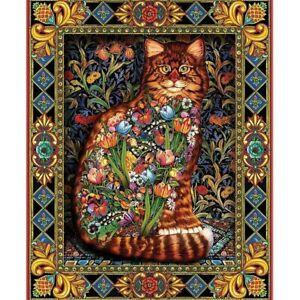 DIY-5D-Diamond-Painting-Kits-Full-Drill-Embroidery-Cross-Stitch-Retro-Mural-Cat