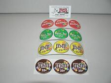 Vendstar 3000 Bulk Candy Vending Machine 12 Candy Label Stickers New Oem