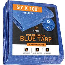 Kotap 15-ft x 25-ft General Purpose Blue Poly Tarp TRA-1525 Kotap America Ltd. Item