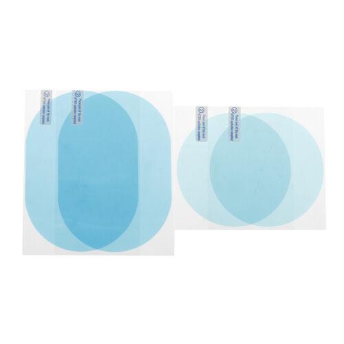 Espelho De Chuva Carro Película Protetora Anti Fog Membrana Impermeável Anti-reflexo hffs