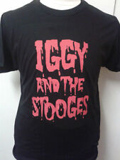 IGGY AND THE STOOGES Iggy Pop T-shirt Rare Vintage Style Tour Garage Punk LP CD