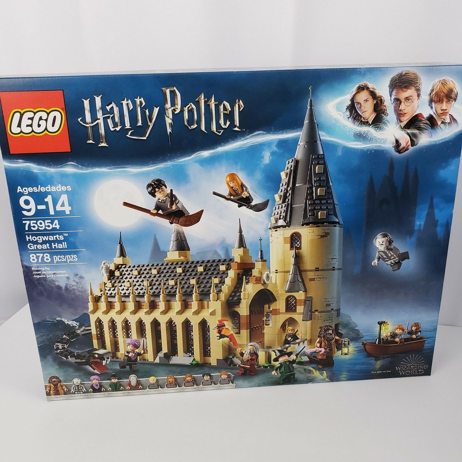 Lego Harry Potter Hogwarts Great Hall Model 75954 878 Pieces Ages 9-14