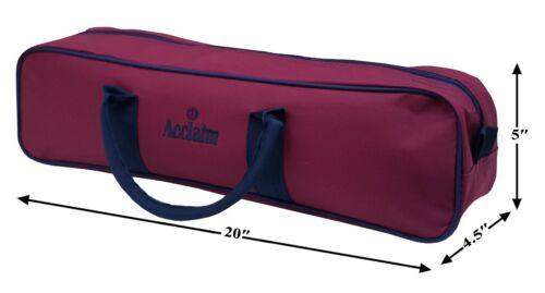 ACCLAIM Wooler Four Bowl Bag Handles Zip Top Crown Green Flat Green Short Mat