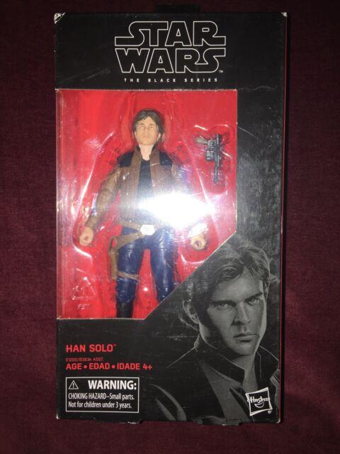 "HAN SOLO #62 Black Series 6"" Scale Action Figure Star Wars Solo Movie-10"