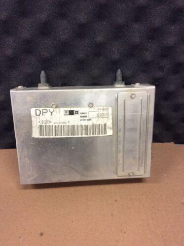 84 85 86 87 CUTLASS ENGINE ECM COMPUTER ECU 1226519  PROM DPY 590-00605