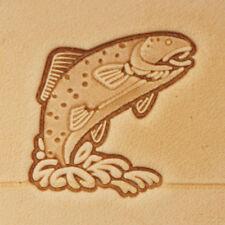 Left Facing Bear Springfield Leather Company 3D Bear Stamp