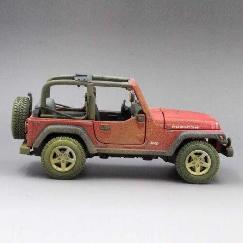 Maisto 1:27 Old Friends Jeep Wrangler Rubicon Diecast Model Car Pickup NEW INBOX