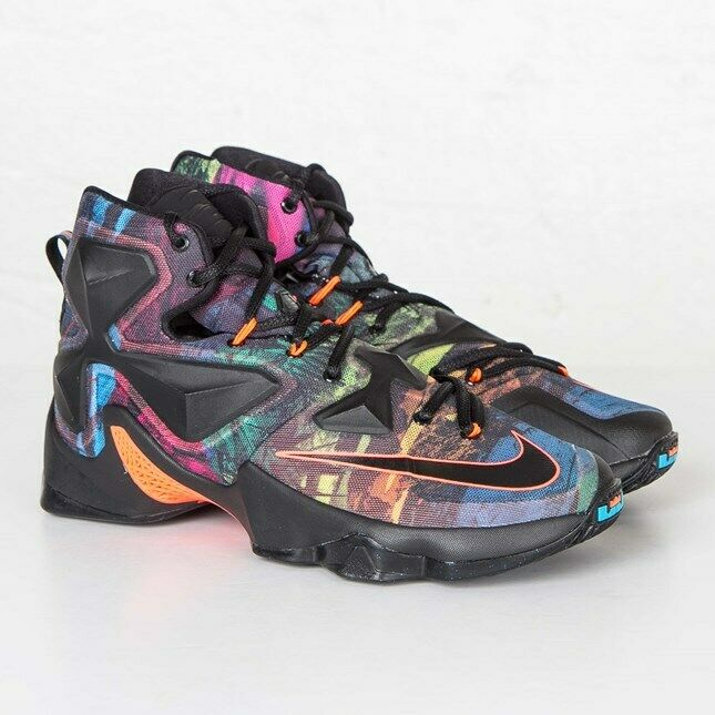 Nike Lebron XIII 13 Akronite Philosophy high top basketball shoes sneakers 14