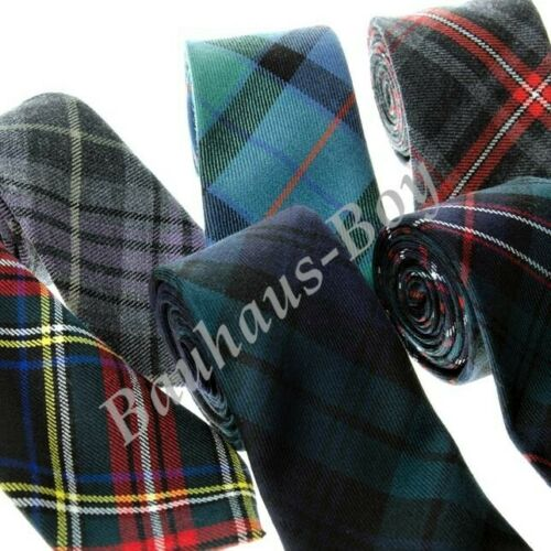NECK TIE TARTAN MACDONALD ANCIENT CLAN 100/% PURE WOOL MADE IN SCOTLAND MENSWEAR