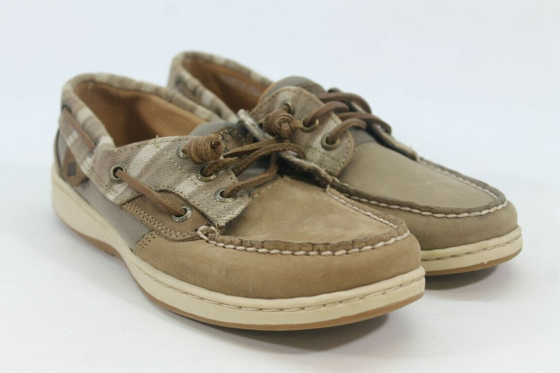 Sperry-Top Sider Songfish Women's Brown Boat Shoes 6.5M (ZAP12603)