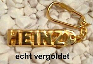 Kreativ Edler SchlÜsselanhÄnger Heinz Vergoldet Gold Name Weihnachtsgeschenk Einfach Und Leicht Zu Handhaben