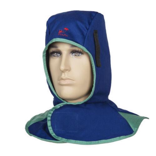 Flame retardant welding head neck protective hood welder head cap safety  *