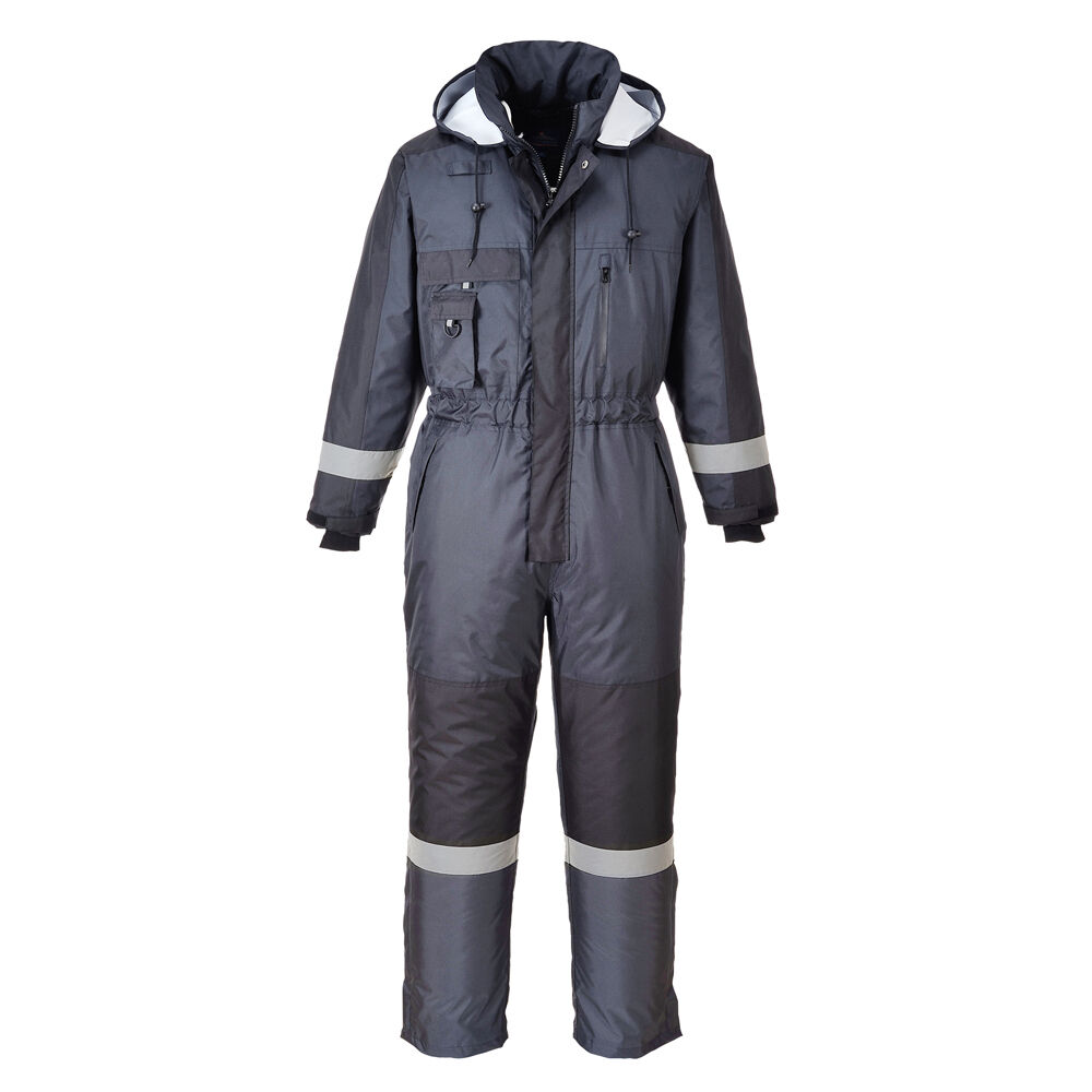Faites vos plaisir à vos Faites clients Portwest Hommes Combinaison De Ski Gris/Bleu Marine/Rouge Divers Taille S585 8f1df9