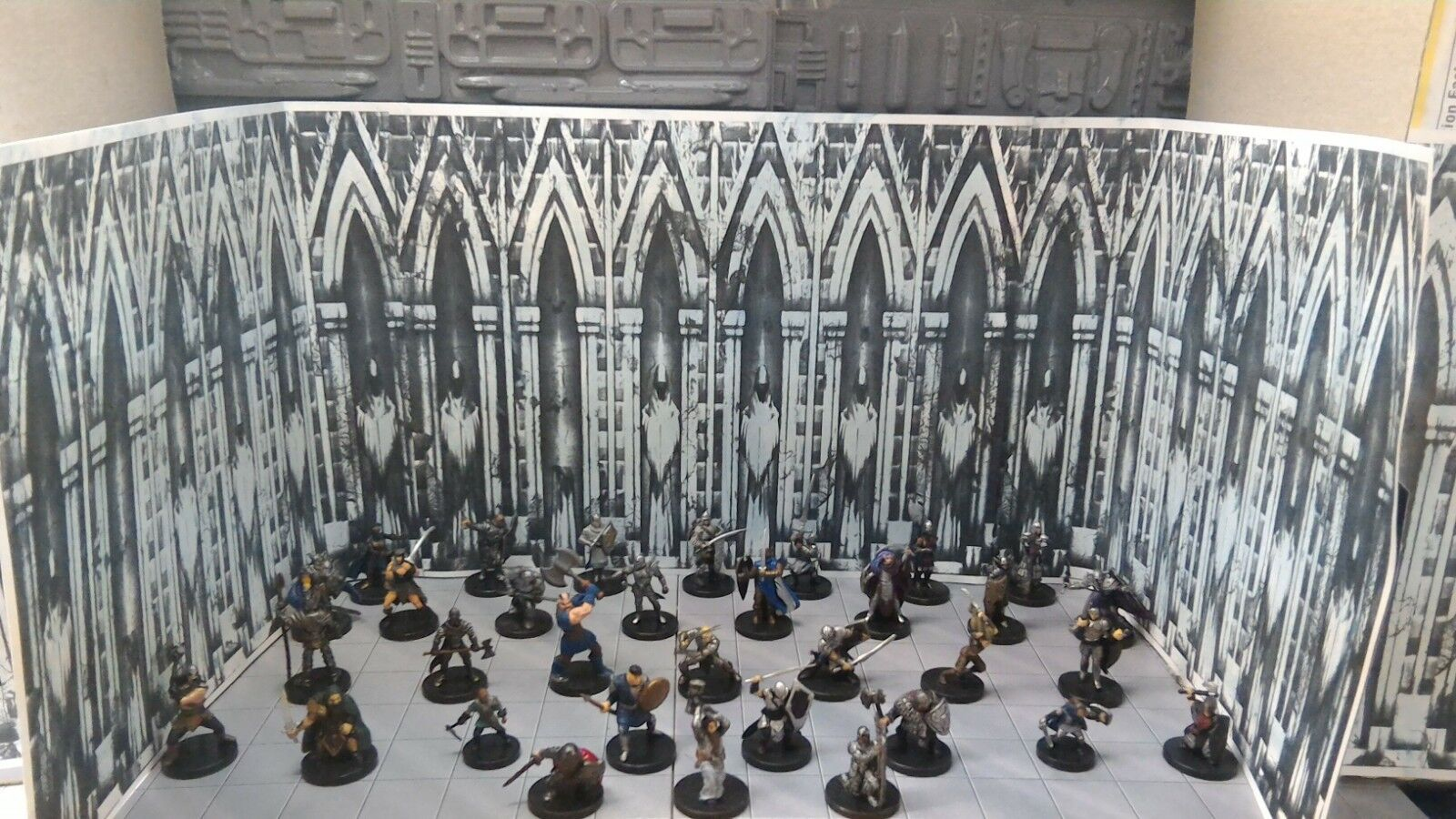 Fantasy, D&D, Pathfinder miniatures Warriors, Weapon-Masters, and Fighters