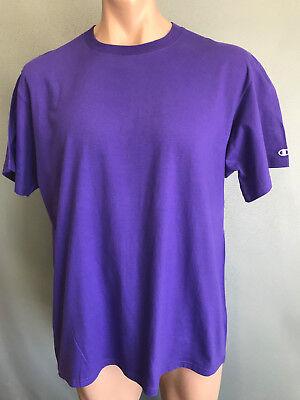 BNWOT Mens Sz 2XL Champion Brand Royal Blue Stretch Short Sleeve T Shirt Tee Top