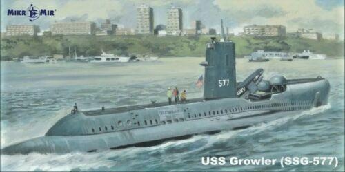 Diesel missile submarine SSG-577 Growler  1//350 scale model Mikro Mir 350-038