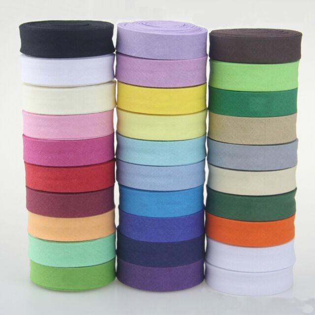 "Bias Fabric Binding 1//2/"" Trim Craft Binding Green 250 Yds"