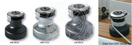 Lewmar Evo Winsch Self-Tailing 6810440 ST40 schwarz / Alu 6810440 Self-Tailing c75321
