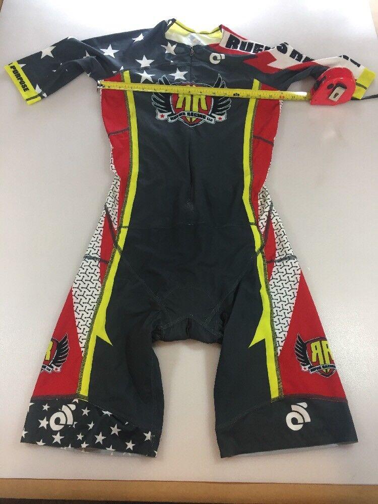 Champion System Mens Apex Tri Speedsuit Large L (5796-27)