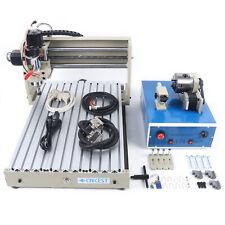 3040 4 Axis Cnc Router 3d Engraver Engraving Milling Machine Desktop Machine