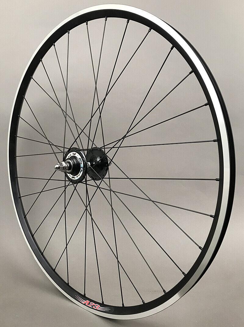 Image 8 - Velocity A23 Black Rims Suzue Hubs Single Speed Track Fixed Gear Bike Wheelset