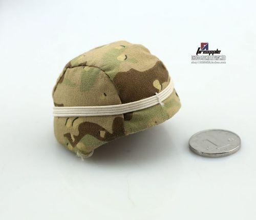 1//6 Soldier Helmet Model US Army Hat 5 Colors Camouflage Cap Fit12/'/' Head Figure